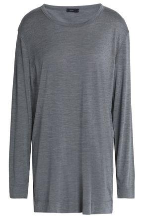 JOSEPH Mélange silk-jersey top