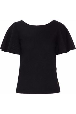 TEMPERLEY LONDON Fluted cashmere top