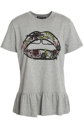 MARKUS LUPFER Printed cotton-jersey T-shirt