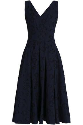 CO Fil coupé cotton midi dress