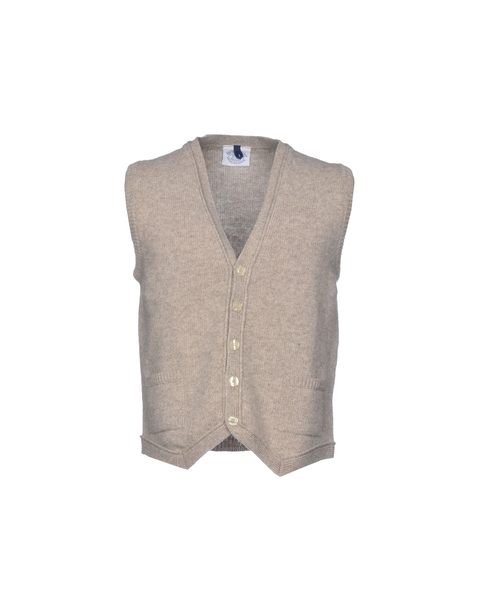 BROWNS Suit Vest in Beige
