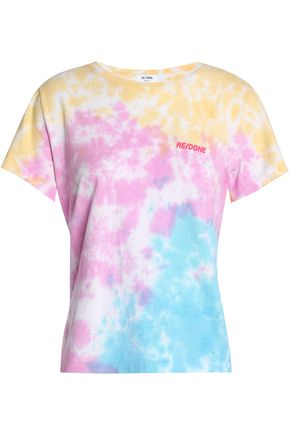 RE/DONE Fantasy tie-dye cotton-jersey T-shirt