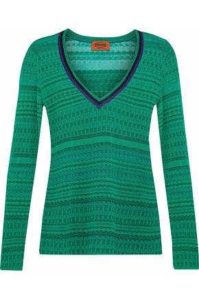 MISSONI Crochet-knit sweater
