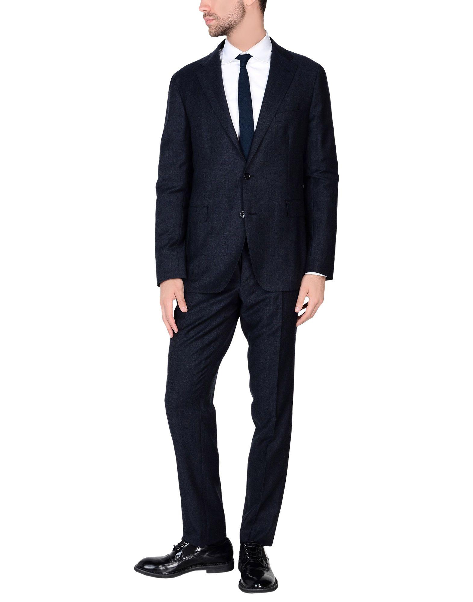 《送料無料》TAGLIATORE メンズ スーツ ダークブルー 54 スーパー110 ウール 100%