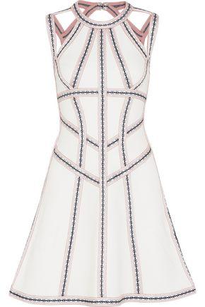 HERVÉ LÉGER Cutout bandage mini dress