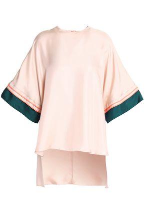 ROKSANDA Silk-twill top