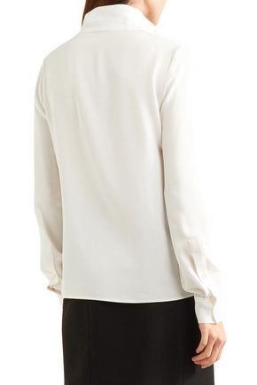 TOM FORD Silk crepe de chine top