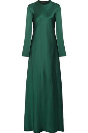 THE ROW Silk-satin maxi dress