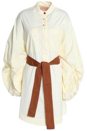 ROKSANDA Cotton-poplin mini dress
