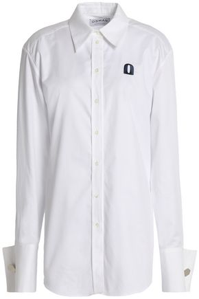 OSMAN Cotton-twill shirt