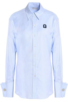 OSMAN Cotton-twill shirt