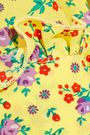 ALESSANDRA RICH Floral-print silk crepe de chine midi dress