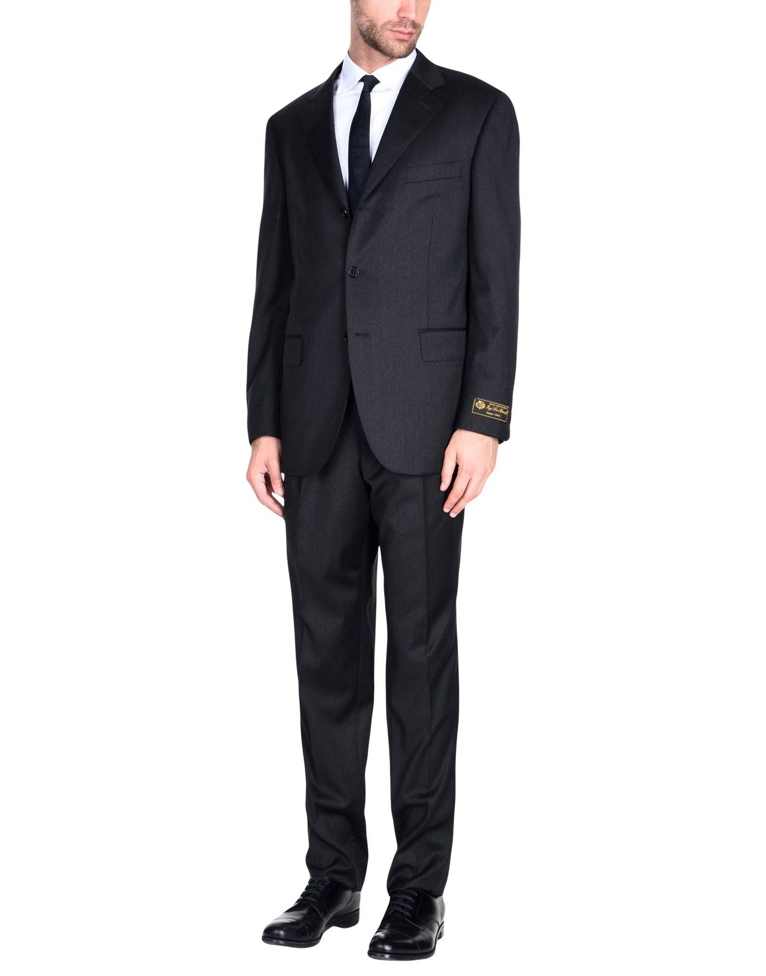 《送料無料》JASPER REED メンズ スーツ スチールグレー 54 スーパー130 ウール