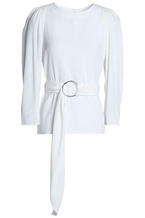 CLAUDIE PIERLOT Belted crepe top