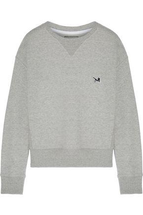 CALVIN KLEIN French cotton-terry sweatshirt