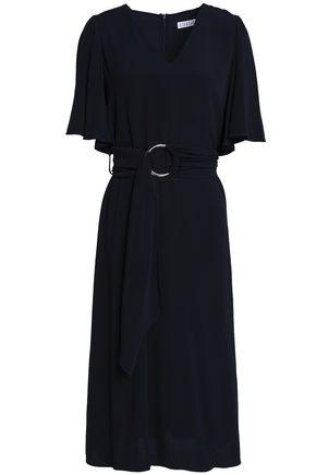 CLAUDIE PIERLOT Belted crepe dress