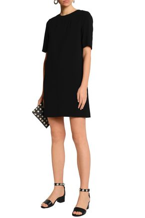 CLAUDIE PIERLOT Bow-embellished twill mini dress