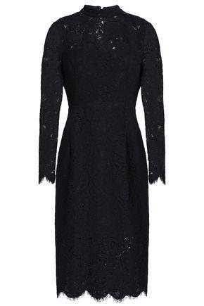 CLAUDIE PIERLOT Cotton-blend corded lace dress