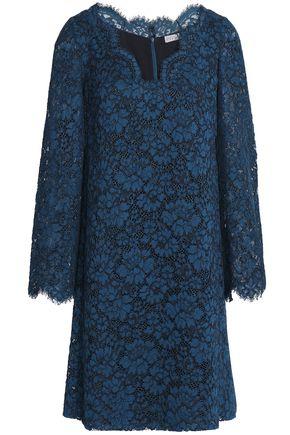 CLAUDIE PIERLOT Cotton-blend corded lace mini dress