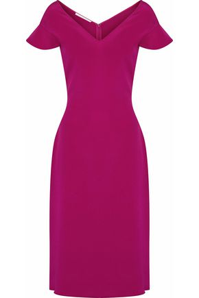 ANTONIO BERARDI Satin-crepe dress