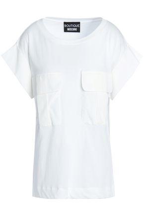 BOUTIQUE MOSCHINO Cotton-poplin top