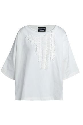 BOUTIQUE MOSCHINO Ruffle-trimmed