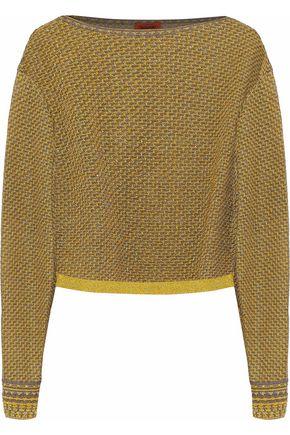 MISSONI Metallic jacquard-knit sweater