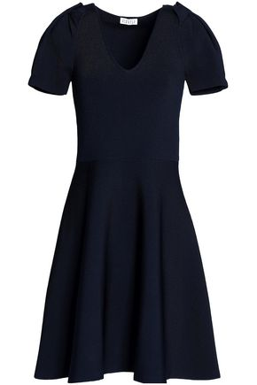 CLAUDIE PIERLOT Fluted ponte dress