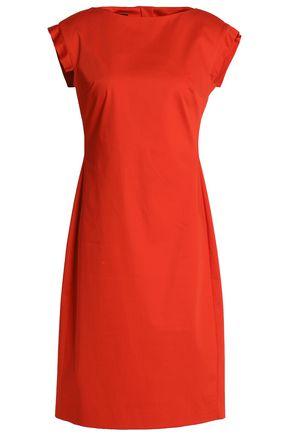BOUTIQUE MOSCHINO Stretch-cotton shift dress