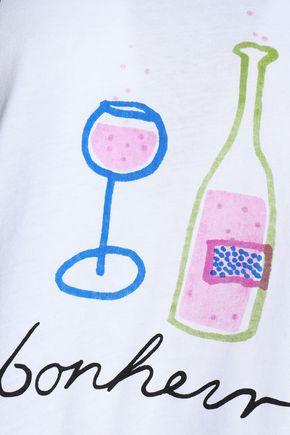 GANNI Cotton-jersey T-shirt