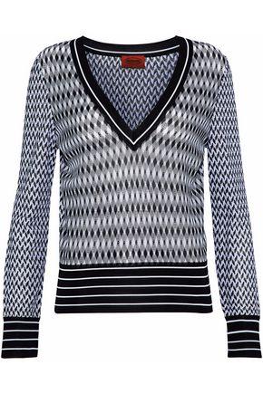 MISSONI Crochet-knit sweater