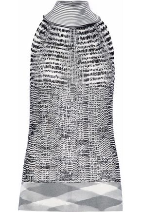 MISSONI Crochet-knit halterneck top