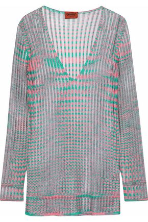 MISSONI Ribbed-knit sweater