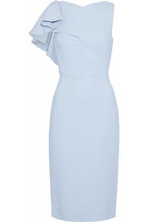 ANTONIO BERARDI Ruffled cady dress