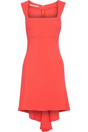 ANTONIO BERARDI Asymmetric cady mini dress