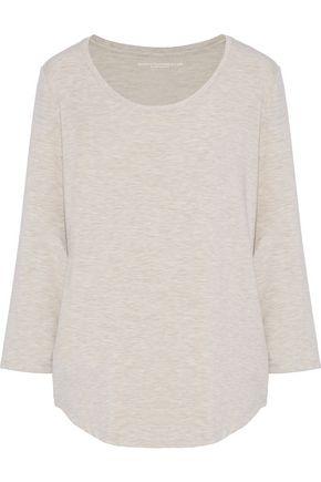 MAJESTIC FILATURES Mélange jersey top