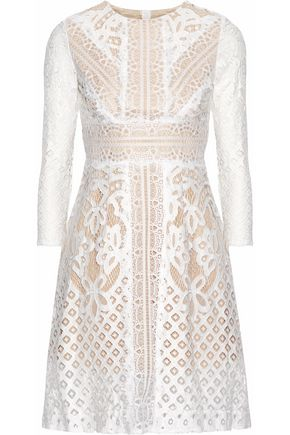 RAOUL Lace mini dress