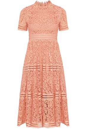 RAOUL Cotton corded-lace dress