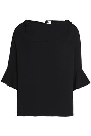 SEE BY CHLOÉ Bow-detailed crepe top