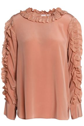 SEE BY CHLOÉ Ruffled silk top