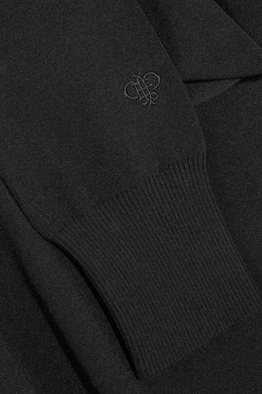 EMILIO PUCCI Cutout stretch-knit turtleneck top