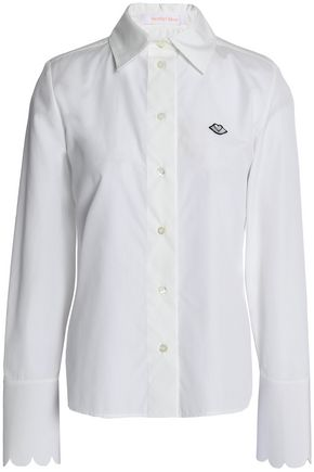 SEE BY CHLOÉ Cotton-poplin shirt