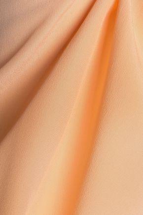 ETRO Gathered silk crepe de chine top
