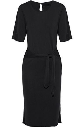 MAJESTIC FILATURES Tie-front jersey dress