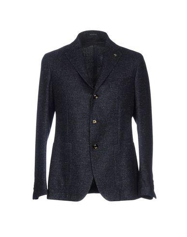 Фото - Мужской пиджак TAGLIATORE темно-синего цвета