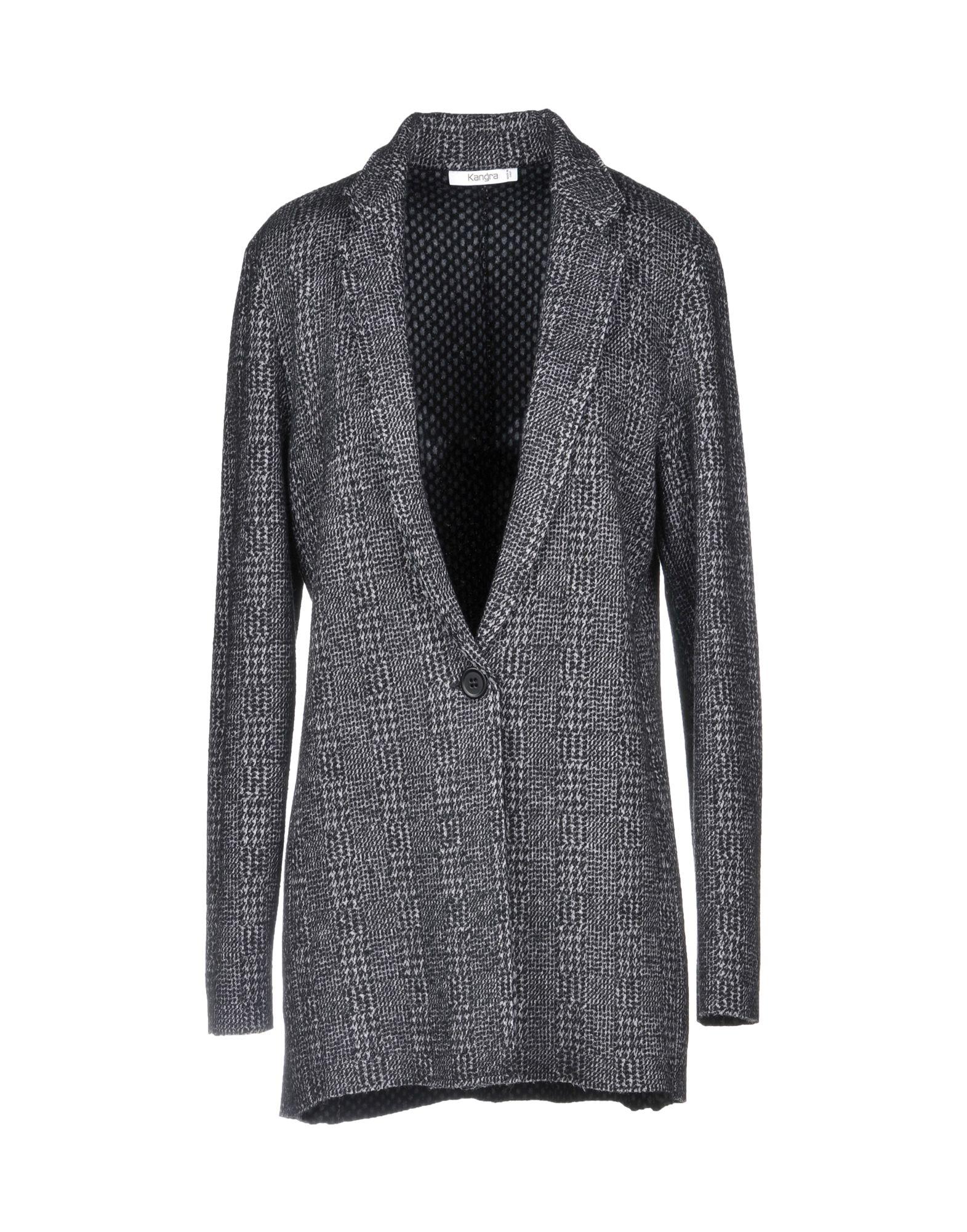 KANGRA CASHMERE Blazer in Steel Grey