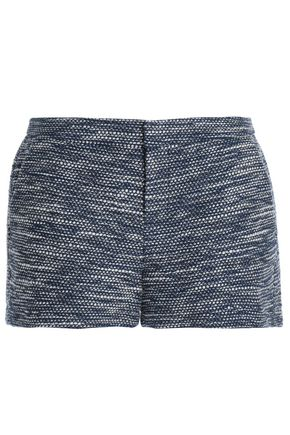 JOIE Cotton-blend bouclé-tweed shorts