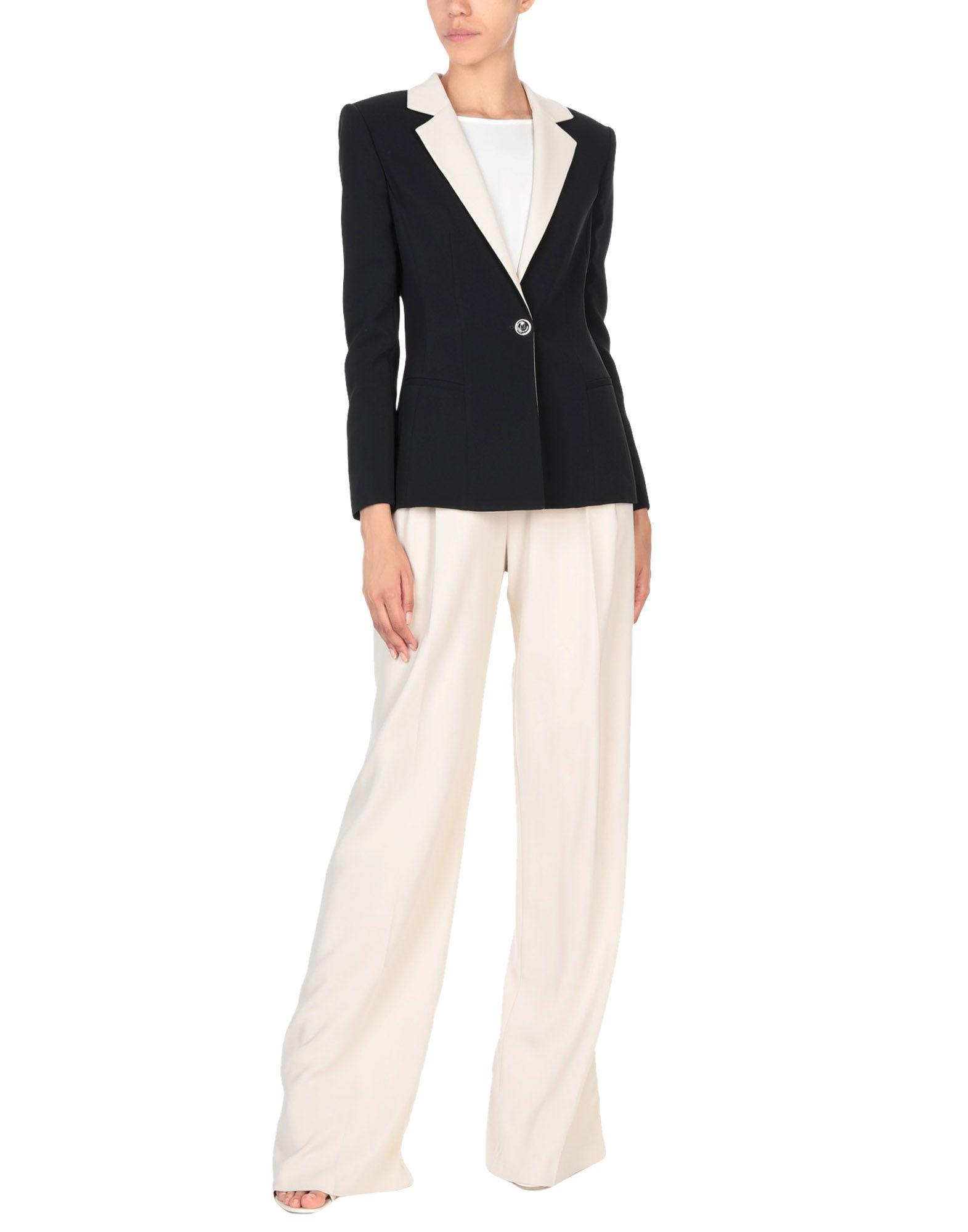 ELISABETTA FRANCHI Классический костюм классический галстук аксессуар robe длинные tie костюм диагональные полосы терилен