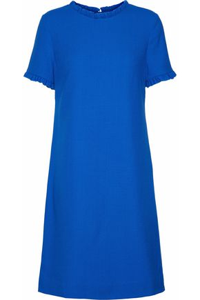 GOAT Birdie ruffle-trimmed wool-crepe dress