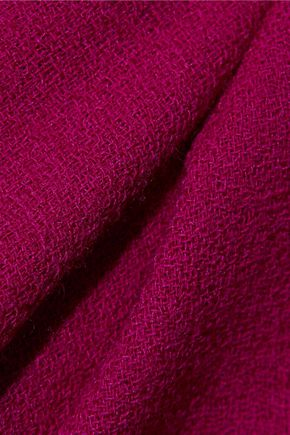 GOAT Virtue flared wool-crepe dresss
